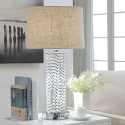 My Decor Center - Free Shipping - Acme Furniture, Britt II - Table Lamp (Chrome)