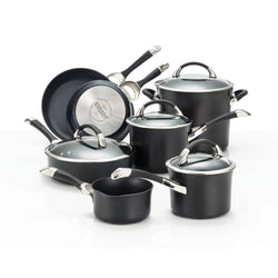 11-Pc Symmetry Hard Anodized Cookware Set