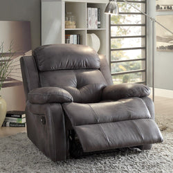 My Decor Center - Free Shipping - Acme Furniture, Ashe - Recliner (Gray Microfiber)