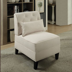 My Decor Center - Susanna Accent Chair (Cream Linen)