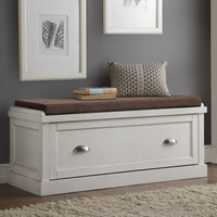 My Decor Center Aislins Bench (White)