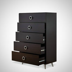 My Decor Center - Free Ground Shipping - Acme Furniture, Chest, Elms - Chest (Espresso Chrome)