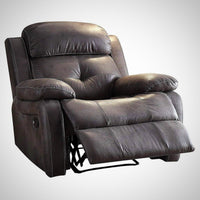 My Decor Center - Ashe Recliner (Gray Microfiber)