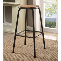 My Decor Center - Scarus Bar Stool (Natural & Black)