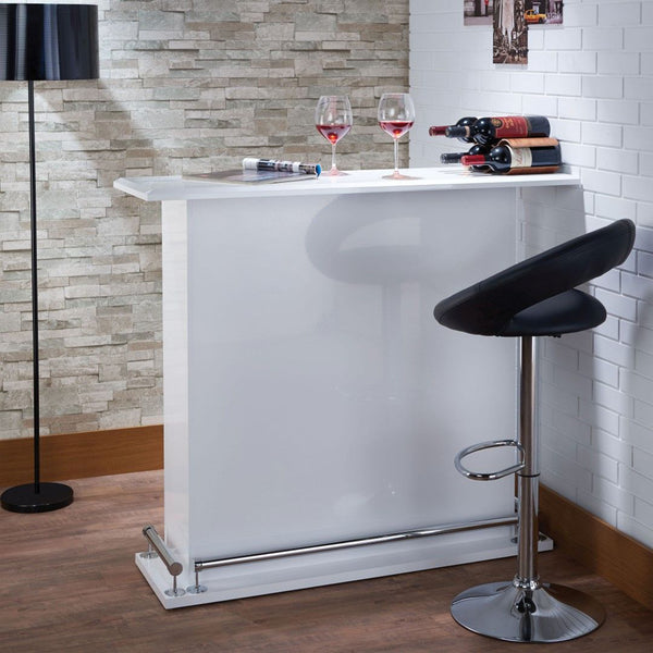 My Decor Center - Kite Bar Table High Gloss (White)