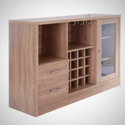 My Decor Center - Free Ground Shipping - Acme Furniture, Server, Hazen D - Server (Rustic Oak Finish)