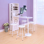 My Decor Center - Mant Counter Height Table (White)