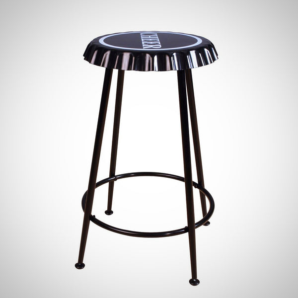 My Decor Center - Mant Counter Height Stool (Black)