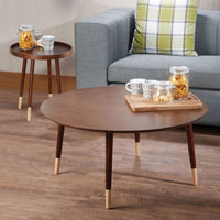 My Decor Center - Dein End Table (Walnut)