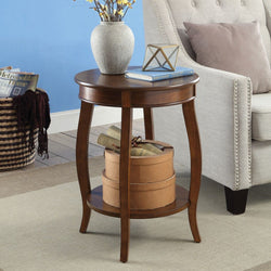 My Decor Center - Free Shipping - Acme Furniture, Aberta - Side Table (Antique Walnut)