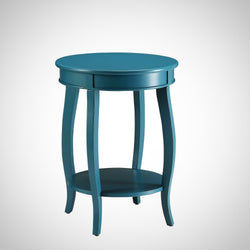 My Decor Center - Free Shipping - Acme Furniture, Aberta - Side Table (Teal)