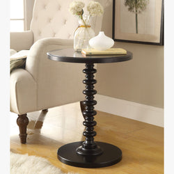 My Decor Center - Free Shipping - Acme Furniture, Acton - Side Table (Black)