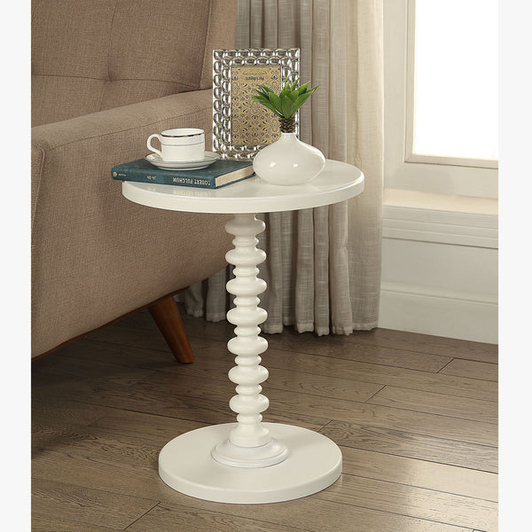 My Decor Center - Acton Side Table (White)