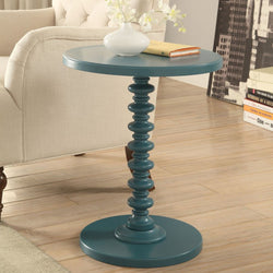 My Decor Center - Free Shipping - Acme Furniture, Acton - Side Table (Teal)