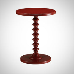 My Decor Center - Free Shipping - Acme Furniture, Acton - Side Table (Red)