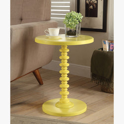 My Decor Center - Free Shipping - Acme Furniture, Acton - Side Table (Yellow)