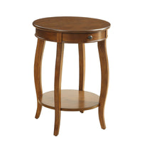 My Decor Center - Alysa Side Table (Walnut)