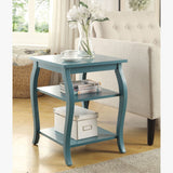 My Decor Center - Becci End Table (Teal)