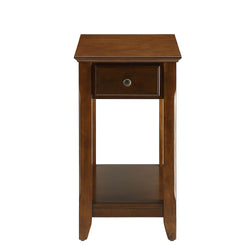 My Decor Center - Free Shipping - Acme Furniture, Bertie - Side Table (Walnut)