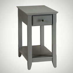 My Decor Center - Free Shipping - Acme Furniture, Bertie - Side Table (Gray)
