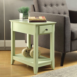 My Decor Center - Free Shipping - Acme Furniture, Bertie - Side Table (Light Green)