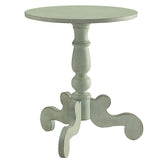 My Decor Center - Freida Side Table French (Antique Green)