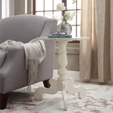 My Decor Center - Freida Side Table French (Antique White)