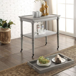 My Decor Center - Free Ground Shipping - Acme Furniture, Tray Table, Frisco - Tray Table (Antique Slate)