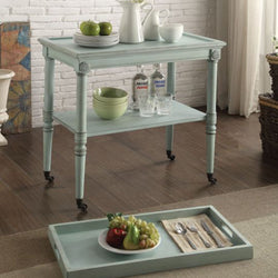 My Decor Center - Free Ground Shipping - Acme Furniture, Tray Table, Frisco - Tray Table (Antique Green)