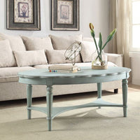 My Decor Center - Fordon B End Table (French Antique Green)