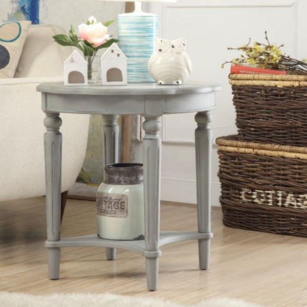 My Decor Center - Fordon End Table (French Antique Slate)