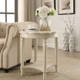 My Decor Center - Fordon End Table (French Antique White)