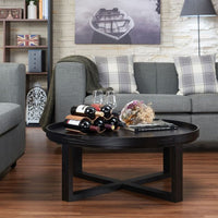 My Decor Center - Dehkha Coffee Table (Black Finish)