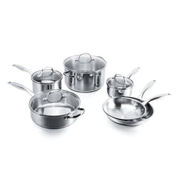 Stovetop Pro Stainless Steel 10 Piece Set
