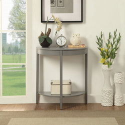 My Decor Center - Justino Console Table (Gray)
