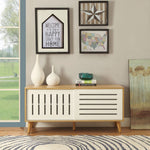 My Decor Center - Kollia Console Table (Natural & White)