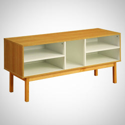 My Decor Center - Free Ground Shipping - Acme Furniture, Console Table, Drivia - Console Table (Ivory & Natural)