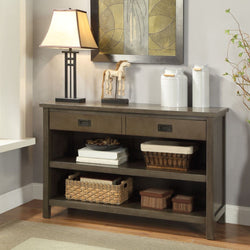 My Decor Center - Free Shipping - Acme Furniture, Asteris - Console Table (Antique Gray)