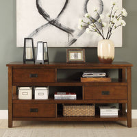 My Decor Center - Fisher Console Table (Walnut)