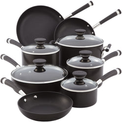 13-Pc Acclaim Hard Anodized Cookware Set