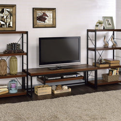 My Decor Center - Free Shipping - Acme Furniture, Bob A - TV Stand (Weathered Oak & Black)