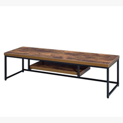 My Decor Center - Free Shipping - Acme Furniture, Bob B - TV Stand (Weathered Oak & Black)