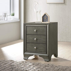 My Decor Center - Free Shipping - Acme Furniture, Blaise - Nightstand 3 Drawer (Gray Oak)