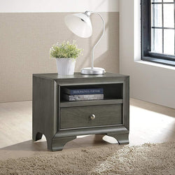 My Decor Center - Free Shipping - Acme Furniture, Blaise - Nightstand 1 Drawer (Gray Oak)