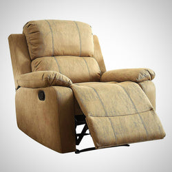 My Decor Center - Free Shipping - Acme Furniture, Bina - Recliner (Light Brown Microfiber)