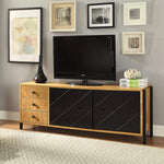 My Decor Center - Honna TV Stand (Natural & Black)