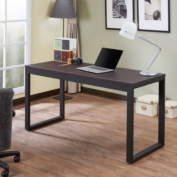 My Decor Center - Sara Office Desk (Espresso & Sandy Black)