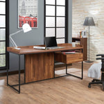 My Decor Center - Sara Desk with drawer (Walnut & Sandy Black)
