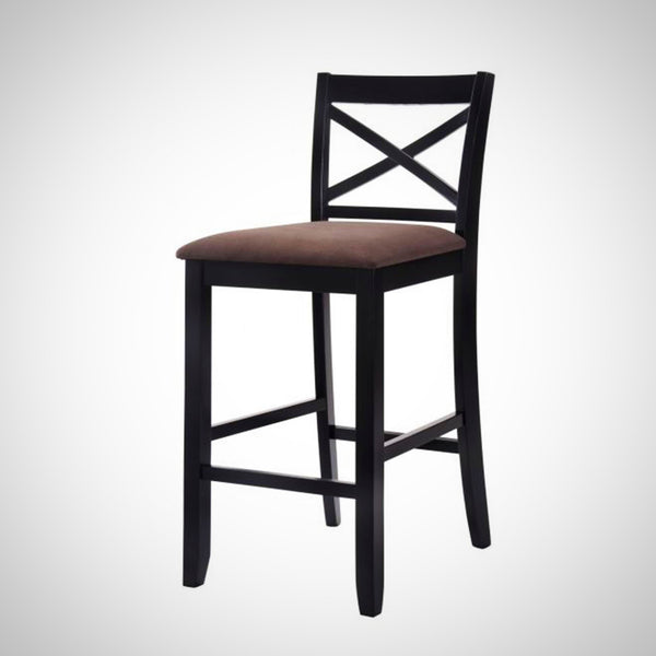 My Decor Center - Tobie Bar Chair (Fabric & Black)