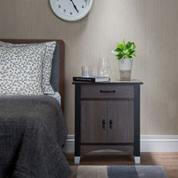 My Decor Center - Calp Nightstand (Gray Oak)